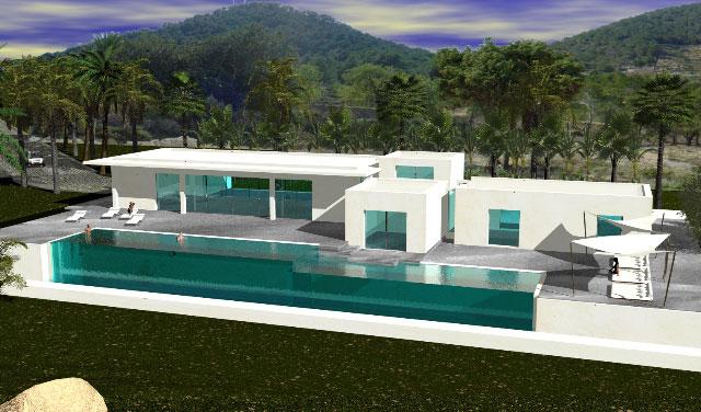Architektur minimalistisch futuristisch for Minimalistisch bauen